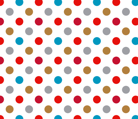 pois océan liberty blanc fabric by nadja_petremand on Spoonflower - custom fabric