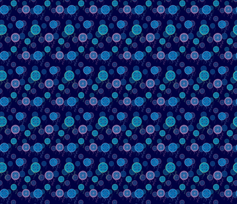 Jellyfish fabric by snigne on Spoonflower - custom fabric