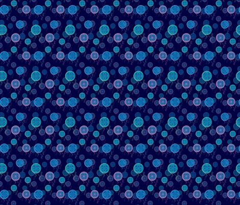 Jellyfish fabric by snigne on Spoonflower - custom fabric