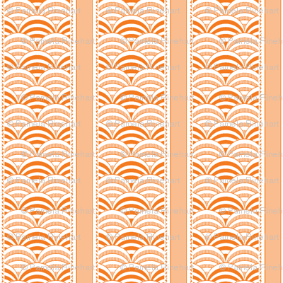 deco-dent stripe orange splash