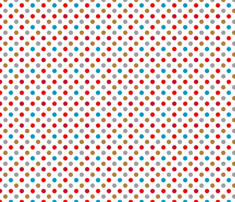 pois océan liberty blanc s fabric by nadja_petremand on Spoonflower - custom fabric