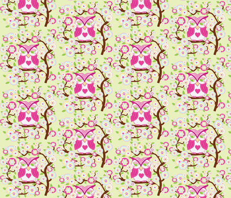 Pink Lady fabric by elizabethjones on Spoonflower - custom fabric