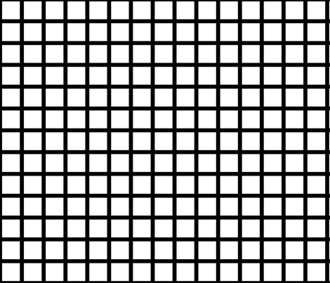 white grid fabric by cristinapires on Spoonflower - custom fabric
