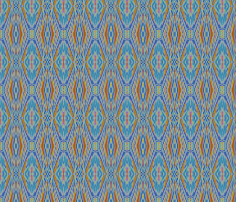 Liquid Ikat fabric by chelsdens on Spoonflower - custom fabric