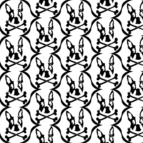 Not-So-Spooky Boston fabric by missyq on Spoonflower - custom fabric