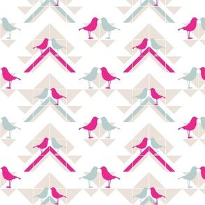 Geometrics/Birds No.4