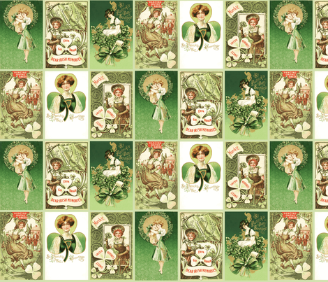 Saint Patrick's fabric by natasha_k_ on Spoonflower - custom fabric