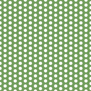 Polka Dot in Stem Green