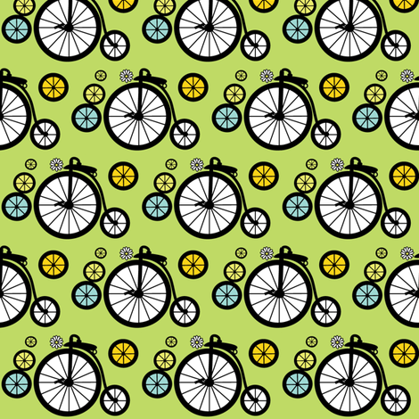 I Want To Ride fabric by kiwicuties on Spoonflower - custom fabric
