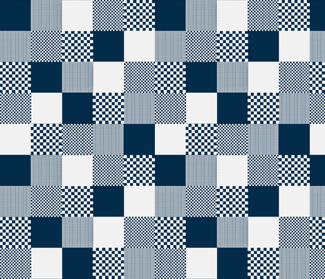 checkitout_tinglaze fabric by glimmericks on Spoonflower - custom fabric