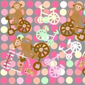 monkey dots