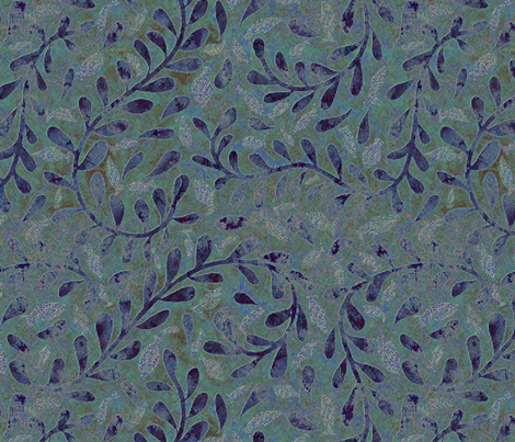 help kelp textured aloha  fabric by vo_aka_virginiao on Spoonflower - custom fabric