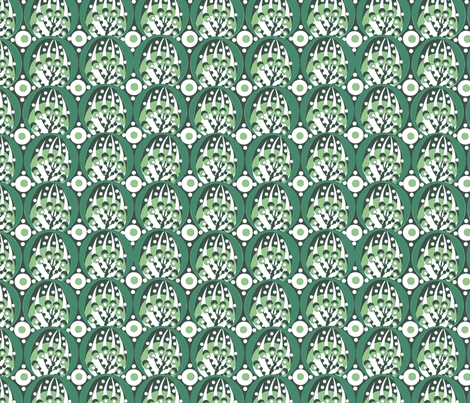 deco / spring green fabric by paragonstudios on Spoonflower - custom fabric