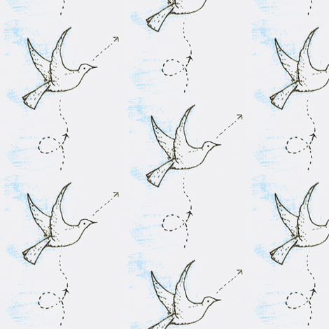 Lines of Flight fabric by boris_thumbkin on Spoonflower - custom fabric