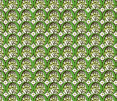 deco / avocado  fabric by paragonstudios on Spoonflower - custom fabric