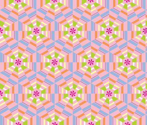 pinwheels fabric by owlandchickadee on Spoonflower - custom fabric