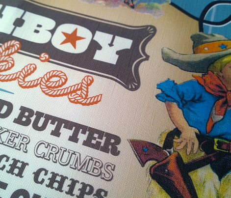 Cowboy Cookies Tea Towel