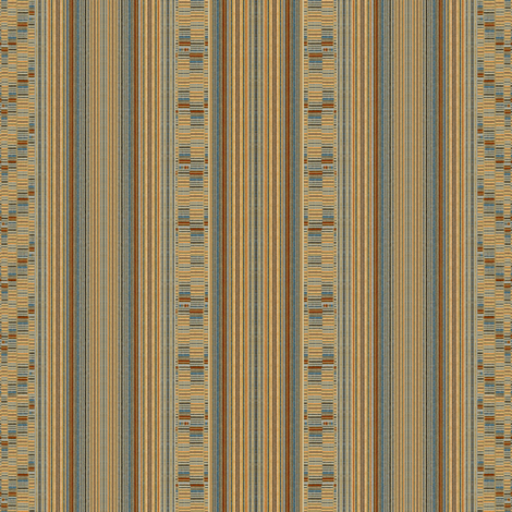 MId Century Stripe and Drop V Weave
