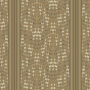 Mid Century Weave and Stripe