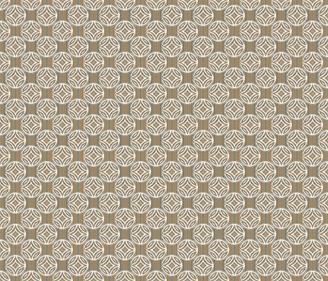 Mid Century Circles Diamonds and Stripes fabric by joanmclemore on Spoonflower - custom fabric