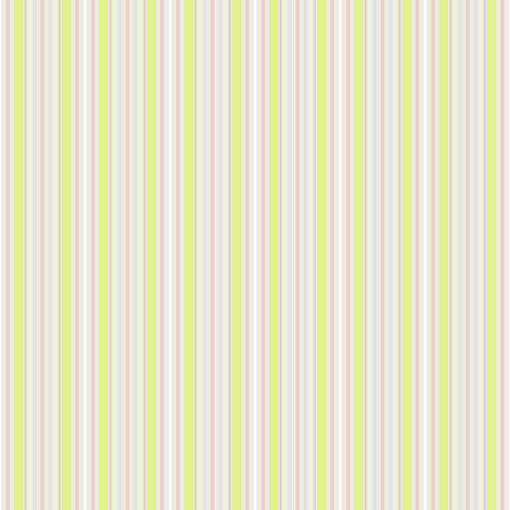 Farmhouse Stripe pink and celery fabric by joanmclemore on Spoonflower - custom fabric