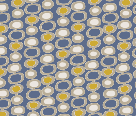 Orbs-Blue fabric by krisruff on Spoonflower - custom fabric