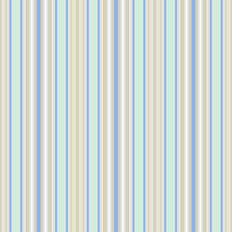 Farmhouse Stripe Blue fabric by joanmclemore on Spoonflower - custom fabric
