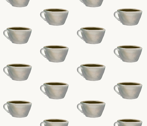 Cup of Jo fabric by karenharveycox on Spoonflower - custom fabric