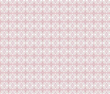 pink scroll fabric by michellesmith on Spoonflower - custom fabric