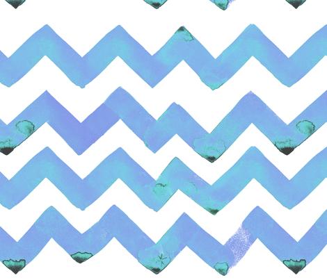cestlaviv_NEW zigzagz Platinum fabric by cest_la_viv on Spoonflower - custom fabric