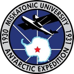 Miskatonic Expedition Blue Huge Patch