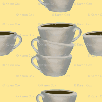 A cup of Jo yellow