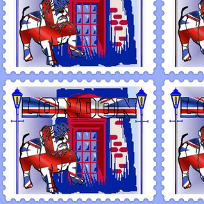 BRITISH BULL DOG STAMP