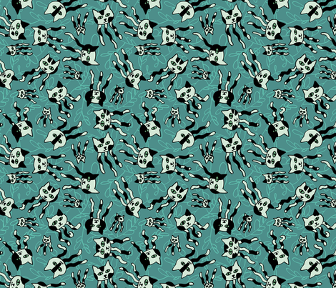 Jellicle Jellies fabric by mongiesama on Spoonflower - custom fabric