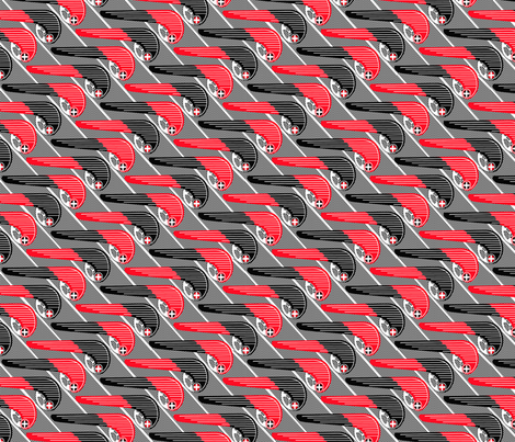 Flashy Chain Guards fabric by kriskross on Spoonflower - custom fabric