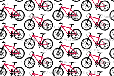 Mountain Bike red - tiny