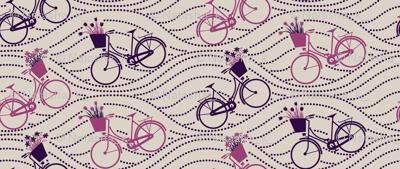 bikes up & down_PURPLE&PINK