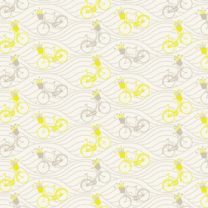 bikes up & down_yellow&grey