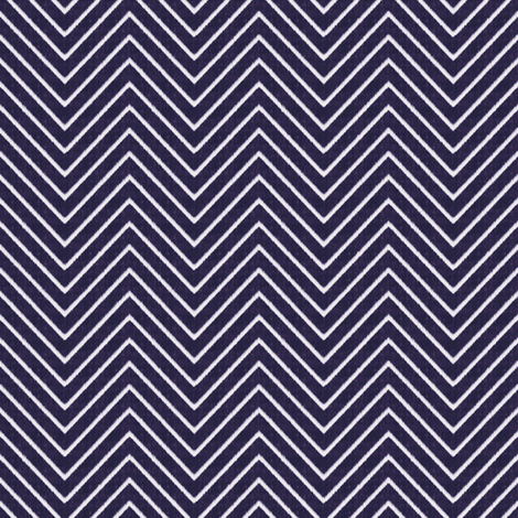 Chevron Chic - Mini - Midnight Blue fabric by kristopherk on Spoonflower - custom fabric