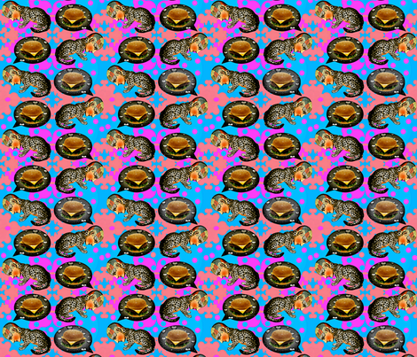 I Can Haz No Chezburger Now fabric by whimzwhirled on Spoonflower - custom fabric