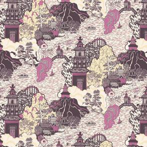 Oriental Pagodas