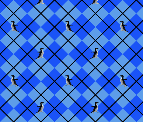 Socially Awkward Arglye fabric by terridee on Spoonflower - custom fabric