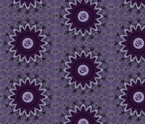 Third Eye OM fabric by brainsarepretty on Spoonflower - custom fabric