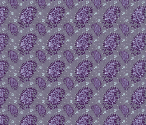 Shanti blooms fabric by brainsarepretty on Spoonflower - custom fabric