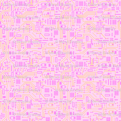 Pink Circuit - Small