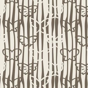 Tangled Butterflies II - Organic Lines