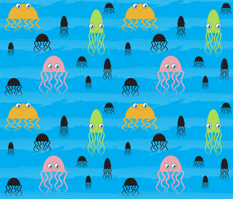 Cute Critters fabric by willow_and_elm on Spoonflower - custom fabric