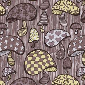 Wonderland Mushrooms - Purple