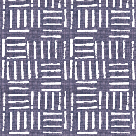 Wicket Press - Plum fabric by kristopherk on Spoonflower - custom fabric