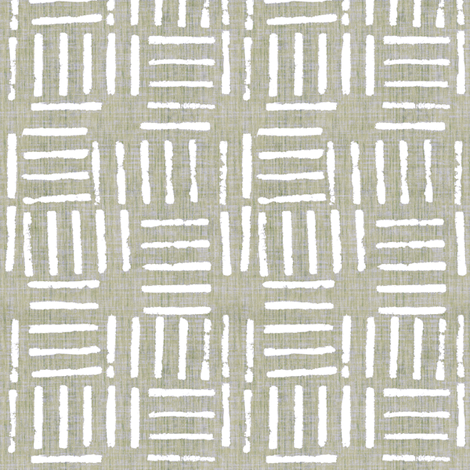 Wicket Press - Sage fabric by kristopherk on Spoonflower - custom fabric